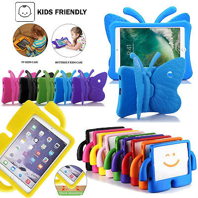 Children Kids Safe Rubber Shockproof EVA Foam Stand Case Cover iPad2 3 4 Air Pro