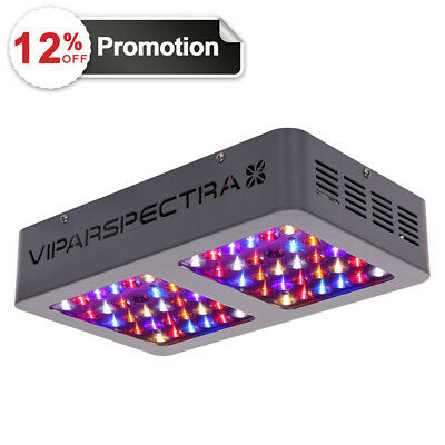 VIPARSPECTRA 300W LED Grow Light 12 Band Full Spectrum ON/OFF Switch VEG Bloom