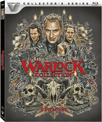 Warlock 1-3 Collection (2017, Blu-ray NIEUW)2 DISC SET