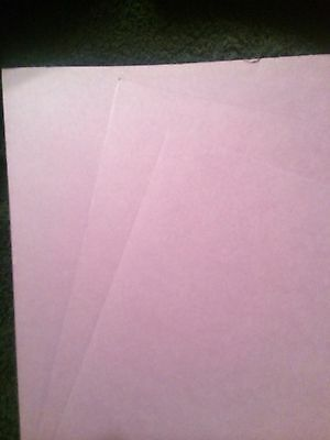 Creative Memories 3 Sheets 2nd Thistle Photo Mounting Paper/Cardstock