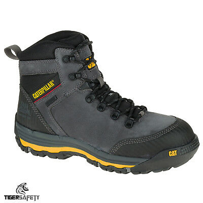 Caterpillar CAT Munising S3 SRC Mens Steel Toe Cap Waterproof Safety Boots PPE