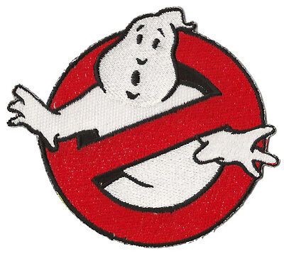 Applikation bestickt Flicken Ghostbuster Ghostbusters wärmeklebend Patch