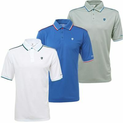 58% Off Island Green Mens Coolpass Logo Chest Ss Performance Golf Polo Shirt