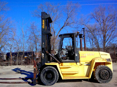 Hyster H250Hd Pneumatic Forklift Lift Truck Hi Lo Fork,25,000Lb Capacity,hyster