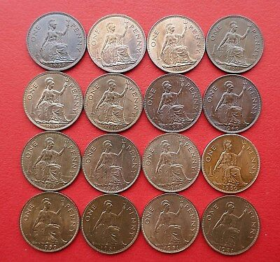 British - 1937 to 1951 George VI  Penny - Better grades - Choose your Date