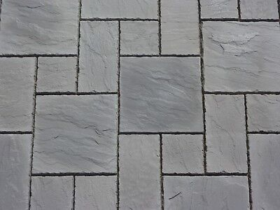 charcoal grey concrete patio paving slabs flags york stone. Black Bedroom Furniture Sets. Home Design Ideas