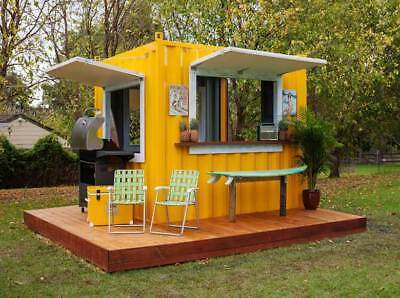 Steel Shipping Container how to convert into a home or shop