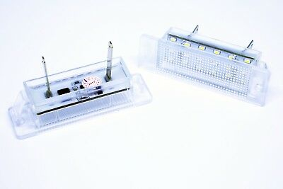 2x LED License Number Plate Light OPEL VAUXHALL CALIBRA Canbus