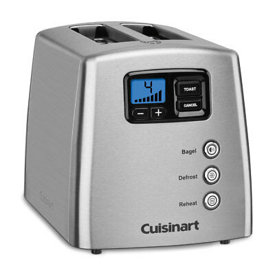 Cuisinart Touch To Toast 2-Slice Stainless Steel Toaster (Certified Refurbished)