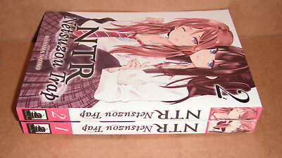NTR - Netsuzou Trap  Vol.1,2 Manga Graphic Novels Complete Set English