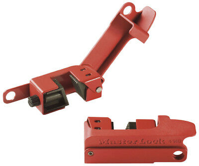 Master Lock 491B Grip Tight Circuit Breaker Lockout Tall Wide Oversized Toggle