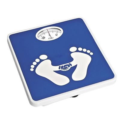 130kg Bathroom Scale Lose Fat Dial New Weighing Mechanical Home Body Weight Blue