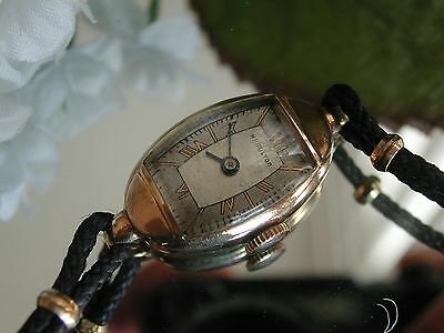 Ladies Art Deco Hamilton Watch ~  Runs