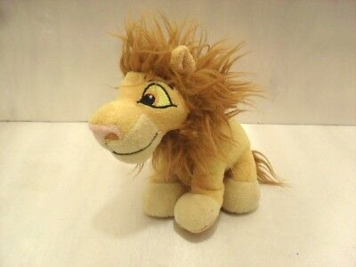 "Walt Disney The Lion King ADULT SIMBA LION 6"" Plush Stuffed Animal Toy GUC"