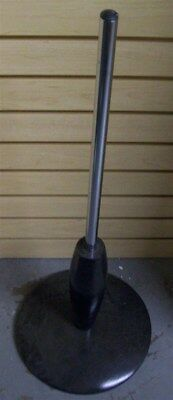 """Store Display Fixtures NEW CIRCULAR WOOD BLACK MANNEQUIN BASE 32"""" tall"""