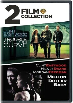 Trouble With The Curve / Millon Dollar Baby - 2 DISC SET (REGION 1 DVD New)