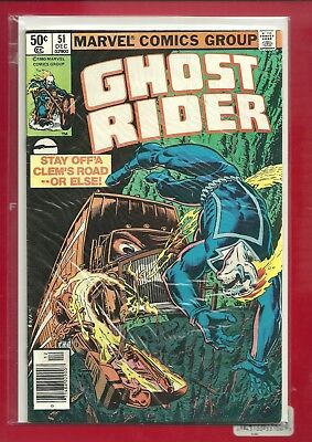 GHOST RIDER # 51 Bronze Age HIGH GRADE VF
