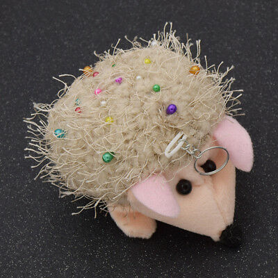 Hedgehog Shape Sewing Pincushion Fabric Cushion Pin Patchwork Craft Marking Tool