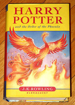 Harry Potter and the Order of the Phoenix. Bloomsbury 1st edit. EUC. HD, DJ. ,
