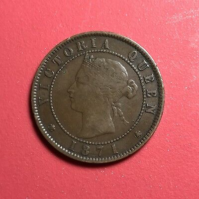 1871 Canada Prince Edward Island 1 Cent  world foreign coin great condition