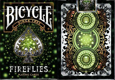 Fireflies Bicycle Playing Cards Poker Size Deck USPCC Custom Limited Edition New