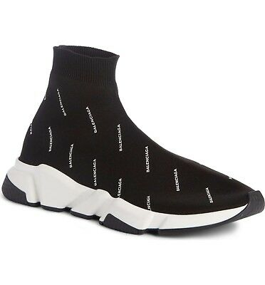 balenciaga speed trainer all over logo