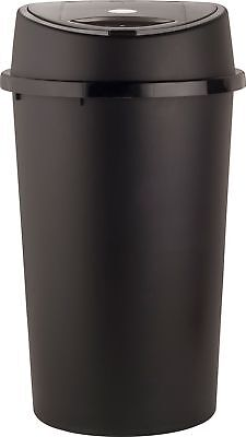 HOME 45 Litre Touch Top Bin - Black and Silver -From the Argos Shop on e V101165