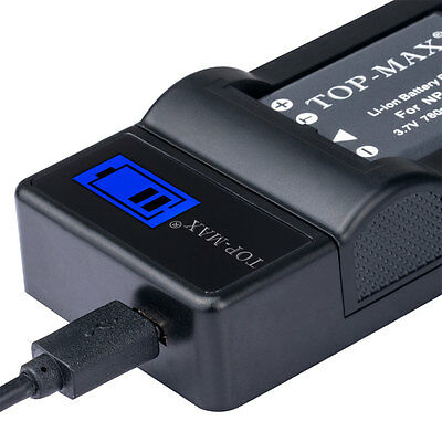 NP-45 LCD Charger for FUJI FUJIFILM FINEPIX NP-45A