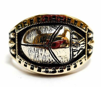 Egyptian Scarab Beetle Ring, Pharoah Scarab Ring In Brass Jewelry Size 8-12