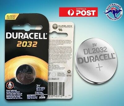 Duracell 2032 / CR2032 battery Individually pack 3v lithium batteries Multi buy