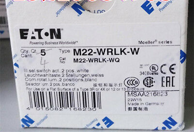 1PC New EATON M22-WRLK-Y M22WRLKY #F0