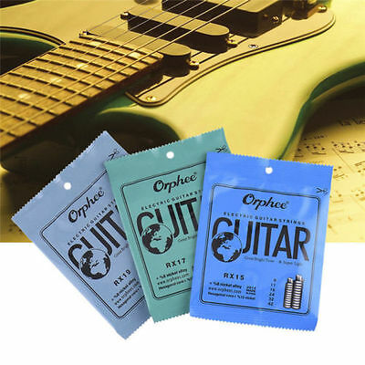 ELECTRIC MUSICal GUITAR STRINGS  6 PACK SET Orphee-RX15 REGULAR SLINKY 7L8N pRO