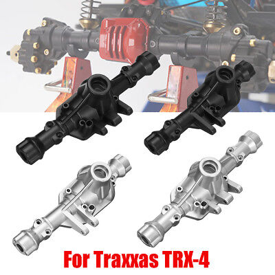 Original Steel Alloy Front And Rear Axle Housing For 1:10  Traxxas TRX-4 RC Car