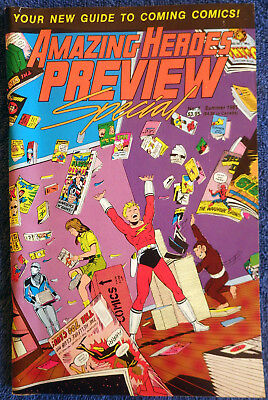 Amazing Heroes Preview Special #1 -  Summer 1985 - Very Nice Copy!