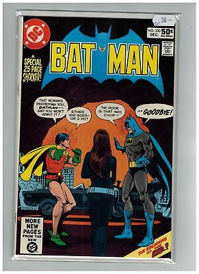 Batman (1940) # 330 (9.2-NM) (266789)