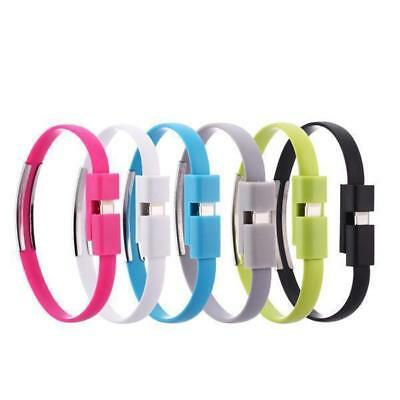 iProtect Silicone Wristband and Charger with Lightning or Micro USB Cable