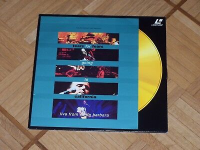 Musik Laserdisc: Tears of Fears - going to California