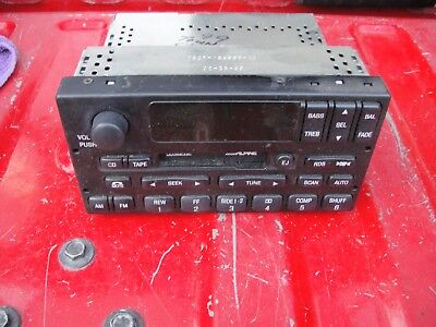 99 04 ford expedition alpine oem console 6 disc cd changer factory ford oem cassette radio cd changer control alpine expedition town car 98 02 used sciox Gallery
