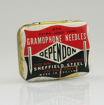 OEPENDON 'Extra Loud Tone' Gramophone Needle Tin - Scarce (SZ76)