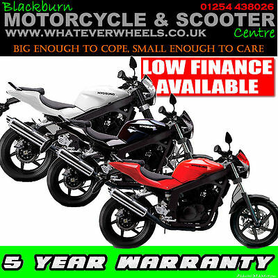 Hyosung GT125 125cc Naked Learner Legal Geared Motorcycle / Motorbike
