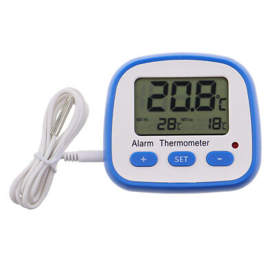 Digital Fridge Thermometer With Hi Lo Alarm Temperature Warning Alert - In-116