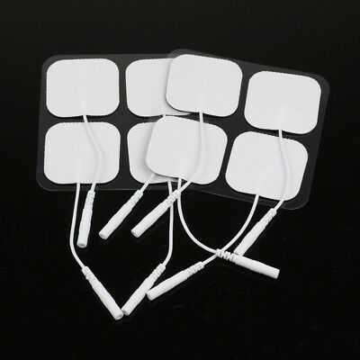 20X Reusable Tens Electrodes Pads Machine Ems Replacement Self-Adhesive