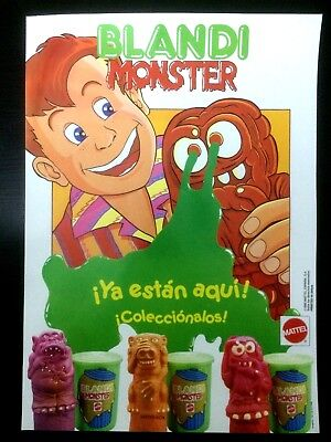 Coleccion Completa Blandi Monster De Mattel 1990
