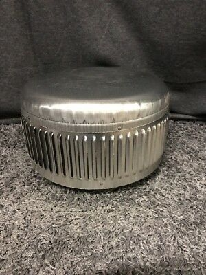 Metal-Fab 6MCHP High-Performance Type B Round Chimney Vent Cap - For 6 Inch Chim