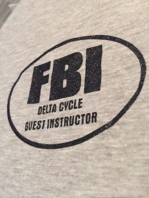 FBI CIA Task Force Unisex Dry Fit tshirt NWT SIZE SMALL ONLY SUPER RARE DISCONTI
