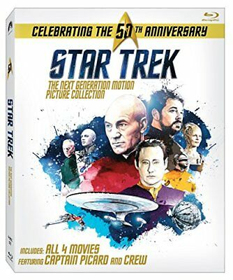NEW Star Trek: The Next Generation Motion Picture Collection [Blu ray]