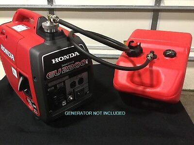 HONDA EU2200i GENERATOR 6 GAL SINGLE LINE EXTENDED RUN MARINE FUEL SYSTEM **NEW*