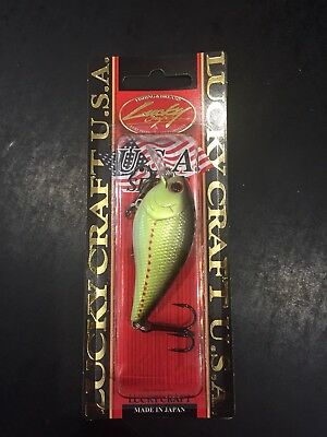 Lucky Craft LC 1.5 1//2oz Chartreuse Perch
