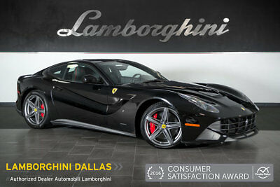 2016 Ferrari F12 Berlinetta Base Coupe 2-Door DAYTONA+SUSPENSION LIFT+SHIELDS+PARKING CAMERA+NAVIGATION+AFS SYSTEM