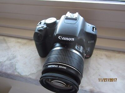 CANON EOS REBEL T1i/EOS 500D Digital camera DS126231 DC8.1 V W/ EFS 18-55MM Lens